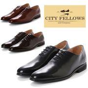 【CITY FELLOWS】(シティーフェローズ) ホールカット オックスフォード レザー ビジネス シューズ