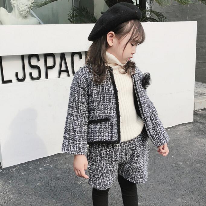 子供服 春秋 コート+短パン セットアップ 女の子 キッズ服 可愛い カジュアル