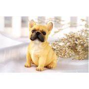 フレンチブルドッグ かわいい 樹脂犬 プレゼント 装飾用 動物モデル  犬デコレーション