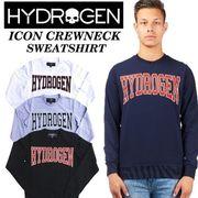 【HYDROGEN】(ハイドロゲン) ICON CREWNECK SWEATSHIRT / スウェット トレーナー 3色