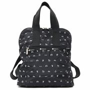 LeSportsac レスポートサック リュックサック EVERYDAY BACKPACK LETS GO BLACK