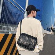 韓国ファッション★通販業界1位★PUレザー/カジュアル/大容量/トートバッグ/ショルダーバッグ/バッグ