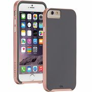 iPhone6s/6  Slim Tough Case Dark Gray/Rose Gold  CM033622