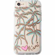 iPhone8/7/6s/6  Hybrid Naked Tough City Print Miami Palm Print  CM035282
