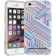 iPhone6s/6  Hybrid Naked Tough Prints REBECCA MINKOFF Pastel Geo Stripe  CM033884