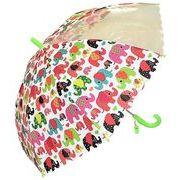 子どもが喜ぶキッズビニール傘 【ぞうさん】 子ども傘 50cm