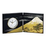 (インテリア)(花瓶/漆芸インテリア)富士美松 祇園時計 M15900