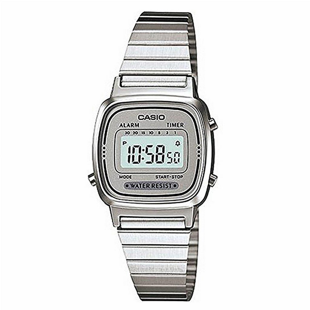56ab42b384 CASIO腕時計 デジタル表示 長方形 カレンダー LA670WA-7 チプカシ ...