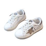 靴 女児 白い靴 新しいデザイン 靴 男児 ホワイトシューズ 学生靴 児童 赤ちゃん 白-続く(1)