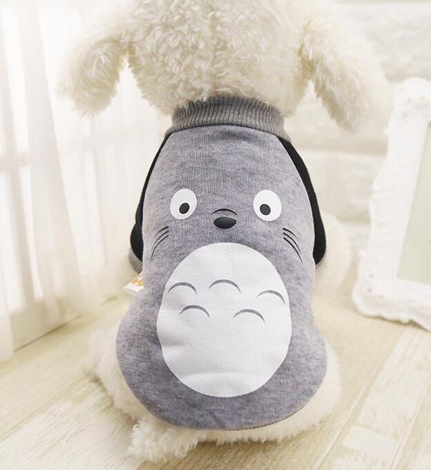 【自社工場】犬服 秋冬着用 グレー ハロウィン 変身 ペット服 ペットパーカー