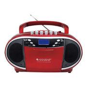 (レジャー)(AV)アナバス CDラジオカセットレコーダー CD-C550