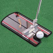 格安! ★ゴルフクラブ★パター練習器具★スイング矯正鏡★初心★自宅で気軽にゴルフ練習