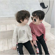 456bc0e709c78 聖哲合同会社MINORI · キッズ ブラウス シャツ Tシャツ 長袖 カジュアル シンプル 女の子 男の子 SALE 韓国子供服