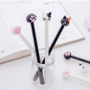猫 猫の爪形 ボールペン 中性ボールペン 水性サインペン 文房具 黒インク