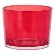 カラフルグラス イタリア製 Sサイズ レッド