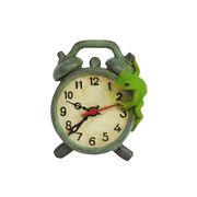 <AMANO>【レジン製フロッグ】カエル・置き時計