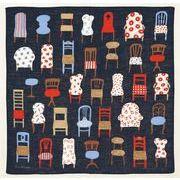 【ご紹介します!安心の日本製!洛花 マツモトヨーコ ハンカチ】椅子