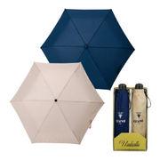 (傘)(長傘/傘セット)チェルベ 男女兼用簡単開閉軽量ミニ傘セット OCV-1500MW