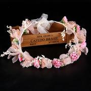 ハロウィン 花冠 ウェディング 花かんむり 造花 写真撮影