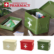 生活 雑貨 ファーマシーボックス 救急箱 収納 アメリカン雑貨