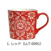 <AMANO>【マグカップ】フラワーマグ・レッド
