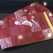 訳あり特価 アウトレット品 リバーシブル  半幅帯 半巾帯 小袋帯【日本製】iwkj795