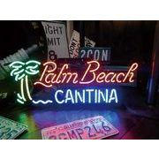 アメリカン雑貨 看板 ネオンサイン PALM BEACH パームビーチ