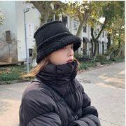 帽子 ハット もこもこ ファー フワフワ クロッシェ 韓国 ファッション レディース 防寒