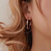 ピアス アクセサリー シンプル 円型 フランス 個性 ファッション デザイン オシャレ