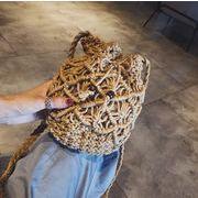 バッグ カバン レディース ハンドバッグ 編みバッグ かごバッグ ショルダーバッグ オシャレ