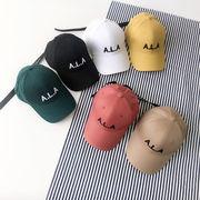 格安!INS春夏キッズ帽子◆キャップ◆紫外線対策◆日焼け止め◆UVカット◆刺繍◆野球帽5-14歳