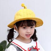 格安!春夏キッズ帽子◆キャップ◆紫外線対策◆日焼け止め◆UVカットバケットハット◆ストライプ柄1-5歳