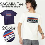 【19SS新作】【実績商品】カリフォルニアサガラ刺繍Tシャツ