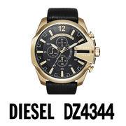 【まとめ割10%OFF】DIESEL ディーゼル 腕時計 DZ4344  メガチーフ クロノグラフ / ブラック
