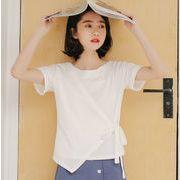 レディースファッション tシャツ ブラウス トップス OL 韓国ファッション デザイン