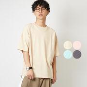 ビッグTシャツ メンズ レディース ビッグシルエット Tシャツ カットソー 半袖 クルーネック オーバーサイズ
