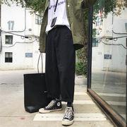 Fashions2019新品/韓国ファッション/CHIC気質/大人気/トレンド/学生/ワイドレッグパンツ/ロングパンツ