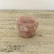 植木鉢B/ブラウン