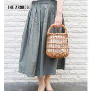 【KAGOBAG】THE AROROG アラログ透かし編みラウンドバッグ