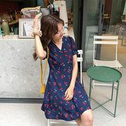 春夏新商品730705 大きいサイズ ドレス 婦人服 日韓風 ワンピース3L 4L 5L