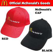 McDonald's CAP 【マクドナルド キャップ】【2色チョイス】