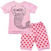 【韓国ファッション】 寝間着 パジャマ 子供服 パンツ Tシャツ 子供スーツ キッズ 韓国
