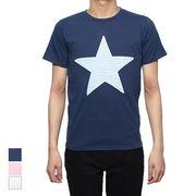 デニムエンボスプリントTシャツ/sb-295756