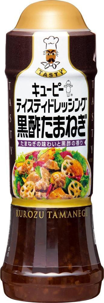 【ケース売り/送料込】キユーピー テイスティドレッシング 黒酢たまねぎ