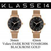 【まとめ割10%OFF】KLASSE14 クラス14 腕時計 VOLARE VO16RG006 36mm 42mm ブラックローズゴールド