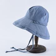 新発売 ハット紫外線100%カット 綿素材のオシャレな 帽子 レディース