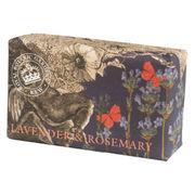 English Soap Company Luxury Shea Soaps シアソープ Lavender & Rosemary
