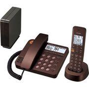 シャープ コードレスデザイン電話機 ブラウンメタリック