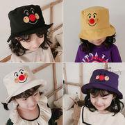帽子 子供ファッション 日焼け止め UVカット クロッシュ 笑顔 綿 アンパンマン