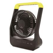 どこでもFAN ホーム&アウトドア ハンドル付きで持ち運びに便利 小型扇風機